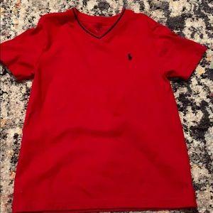 Polo v-neck T-shirt
